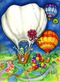 EB047 - Hot Air Balloons