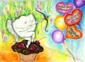 EB052-L7 - Birthday Balloons